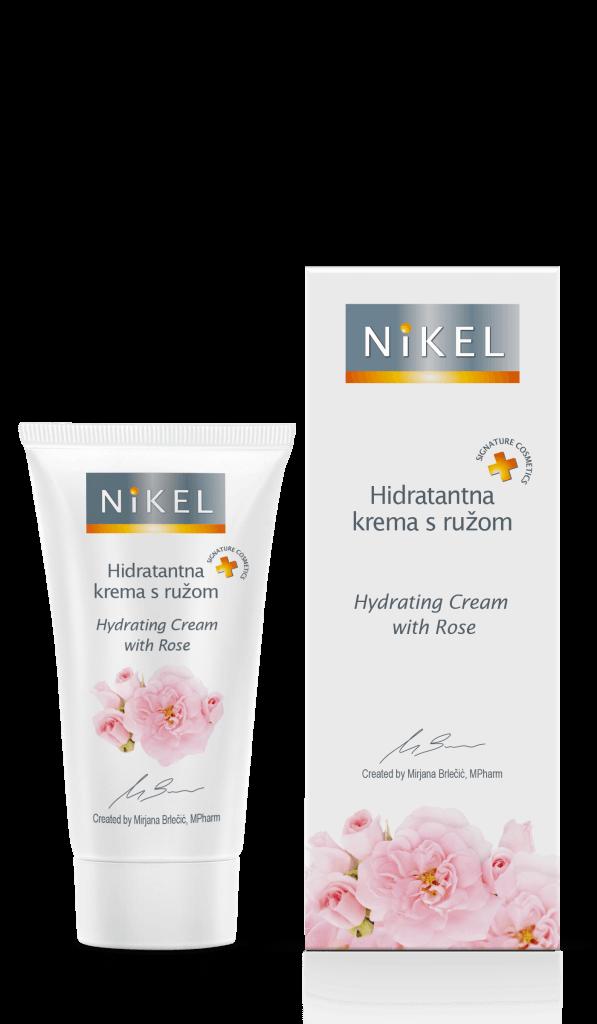 Feuchtigkeitscreme mit Rose - Nikel