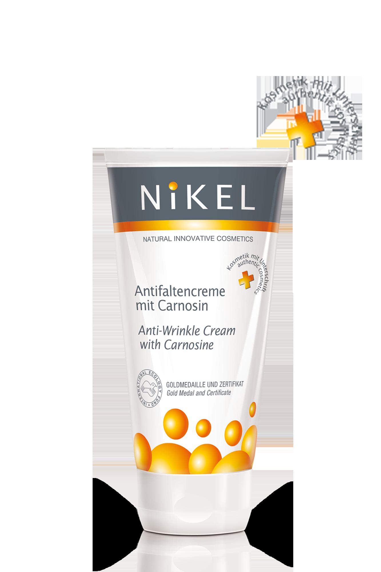 Antifaltencreme mit Carnosin - Nikel